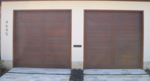 Types of Garage Doors Wood Composite Garage Doors