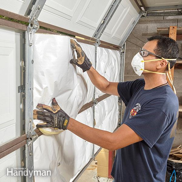 Improve Garage Door Insulation