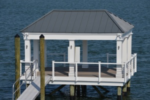 pier and gazebo marine construction