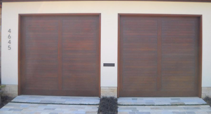 Types of Garage Doors Wood Composite Garage Doors