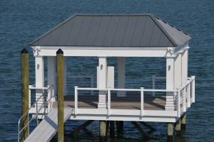 pier and gazebo marine construction